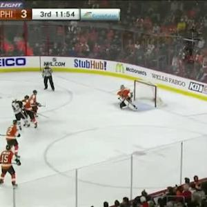 Steve Mason Save on Patrick Sharp (08:07/3rd)