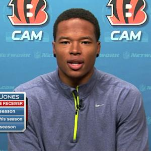 Cincinnati Bengals wide receiver MarvinJones: It's all about consistency for us