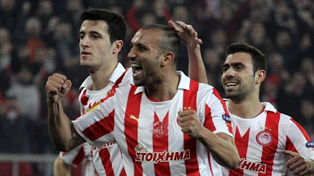 Olympiakos Piraeus&#39; Rafik Djebbour (Reuters)