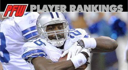 Week Seven RB rankings