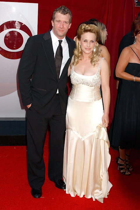 Tom Jane and Patricia Arquette at The 57th Primetime Annual Emmy Awards.