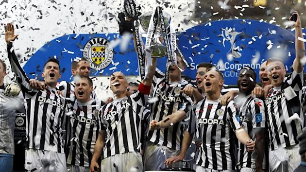 St Mirren have won their first major trophy since 1987