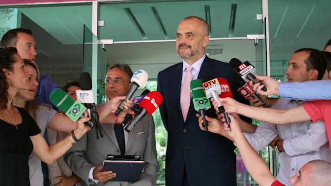 New Albania PM vows less reliance on remittances