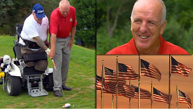 Patriot Award recipienent, Bob Beach, offers Veterans Support thru Golf