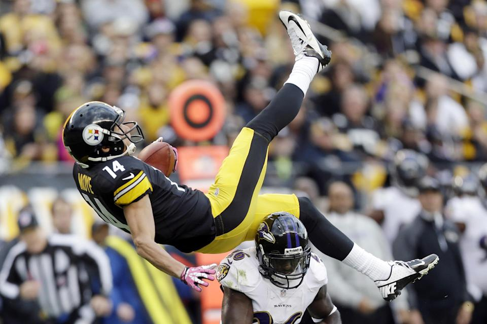 Steelers open up playbook, drop Ravens 19-16
