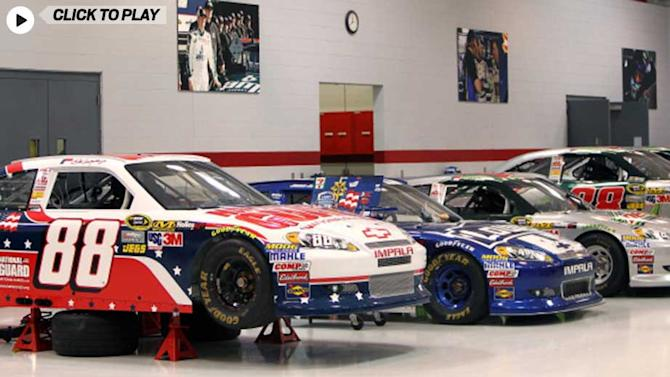 Indiana Pacers Visits Hendrick Motorsports