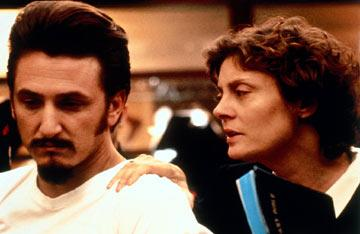 Sean Pean and Susan Sarandon in Gramercy Pictures' Dead Man Walking