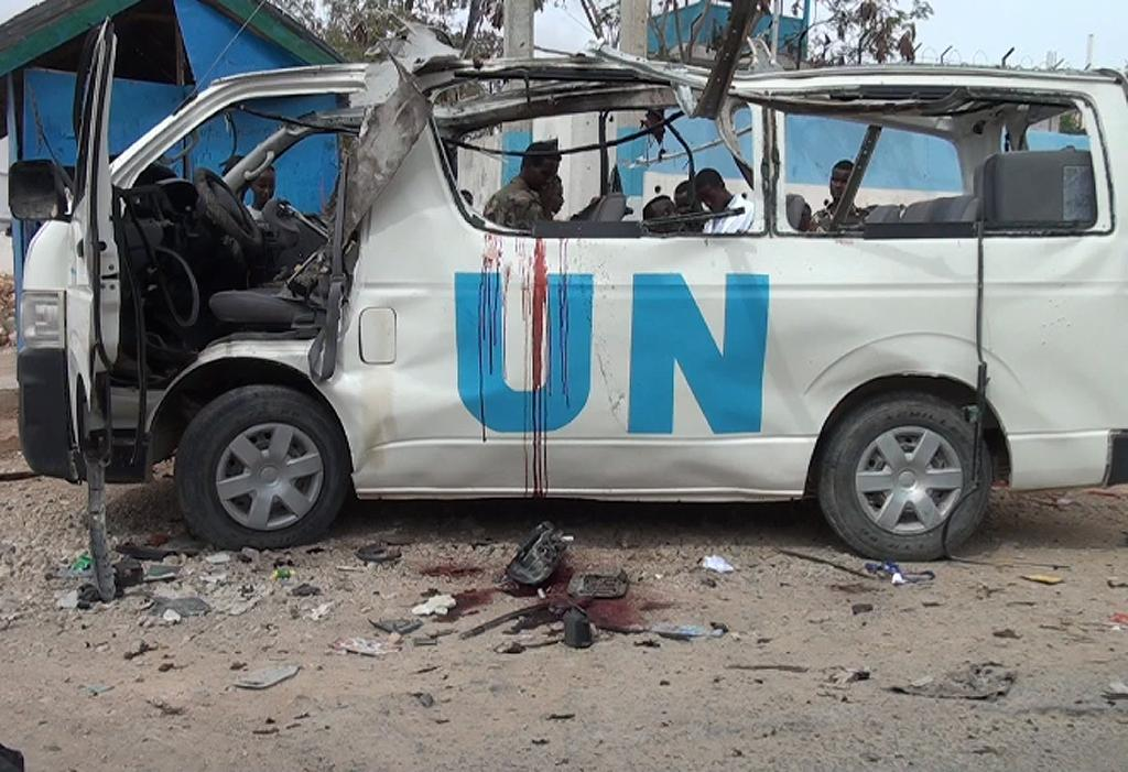 UN mourns four staff killed in Somalia bomb attack