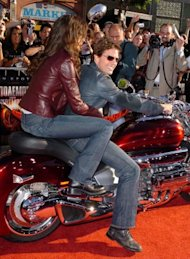 Tom Cruise's bike didn't come easy. (S Granitz/ Wire Image)