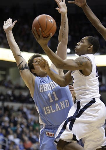 Holloway leads Xavier over Rhode Island 84-66