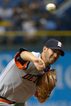 Porcello throws 7 shutout innings, Tigers top Rays
