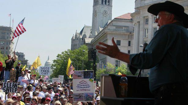 The Tea Party's War on Itself Now Includes a Literal Armed Rebellion