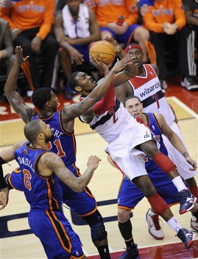 Anthony's 3 helps Knicks keep Wizards winless
