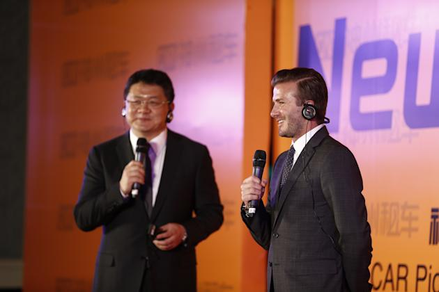 David Beckham Visits China - Day 7