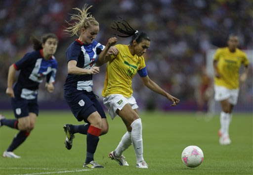 Brazil plays Japan in women's Olympic quarter