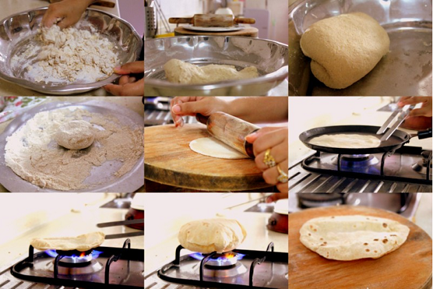 To Make Roti in 20 Minutes