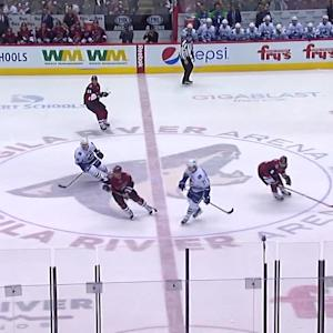 Domingue's impressive save