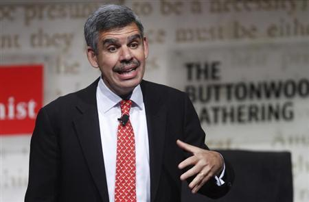 El-Erian, CEO and co-CIO of PIMCO, speaks during The Economist's Buttonwood Gathering in New York