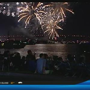 The Big Bay Boom lights up from the Port of San Diego