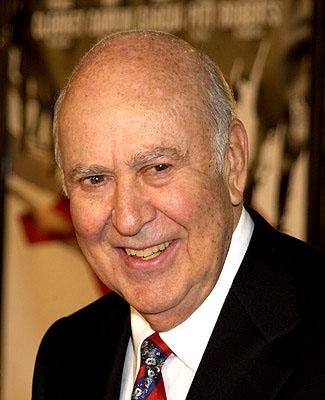 Premiere: Carl Reiner at the Westwood premiere of Warner Brothers' Ocean's Eleven - 12/5/2001