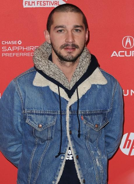 Shia LaBeouf attends 'The Necessary Death Of Charlie Countryman' premiere at Eccles Center Theatre during the 2013 Sundance Film Festival on January 21, 2013  -- Getty Premium