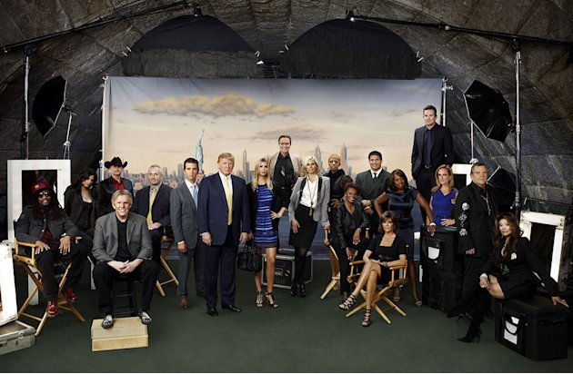 "The cast of "" The Celebrity Apprentice."""
