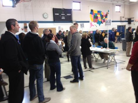 Photos: Election Day in Columbus, Ohio, Sees Long Lines