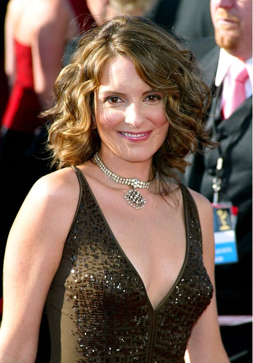 Tina Fey at The 55th Annual Primetime Emmy Awards. 