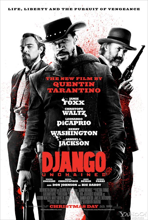 Django Unchained Poster Watermark