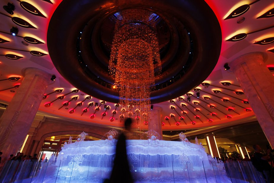 Galaxy Casino lobby in Macau