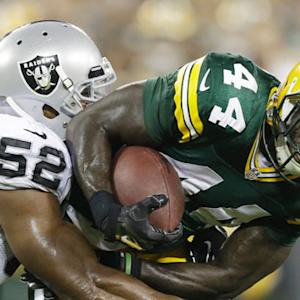 Oakland Raiders vs. Green Bay Packers preseason highlights