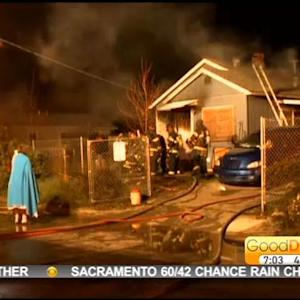 West Sacramento Home Catches Fire