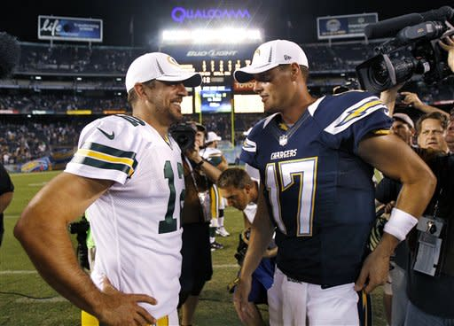 Chargers beat Pack 21-13 in preseason opener