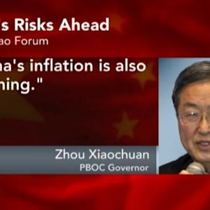 China's Growth Fell `a Bit' Too Much: PBOC's Zhou