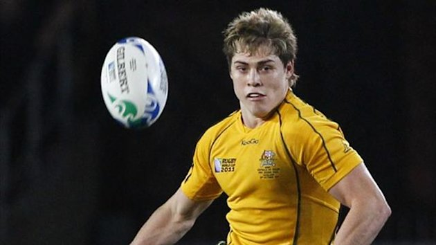 Australia Wallabies' James O'Connor (Reuters)