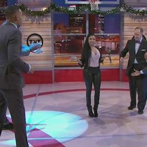 Inside the NBA Freestyle Session