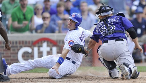Mather, Cubs end 4-game skid, stop Rockies' string