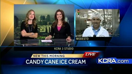 Modesto based Crystal Creamery cranks out holiday flavors