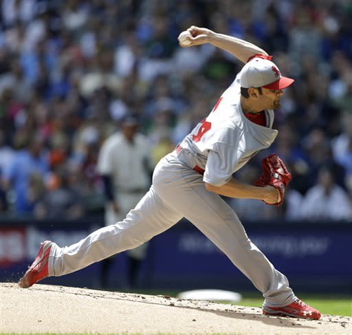 Garcia pitches Cardinals past Brewers 10-1