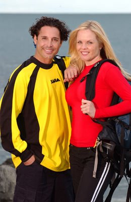Married entrepreneurs Jonathan and Victoria CBS' The Amazing Race 6