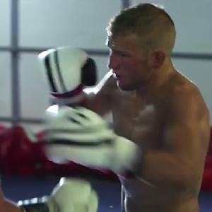 UFC 177: T.J. Dillashaw First Day at Team Alpha Male