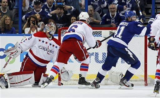 Stamkos has 2 goals in Lightning win over Capitals