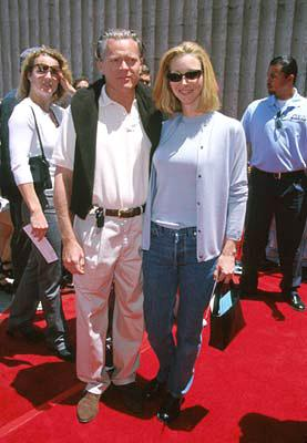Lisa Kudrow and husband at the Westwood premiere of 20th Century Fox's Star Wars: Episode I