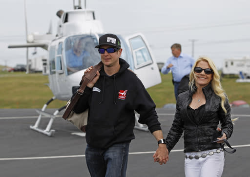 NASCAR suspends Kurt Busch after domestic violence details