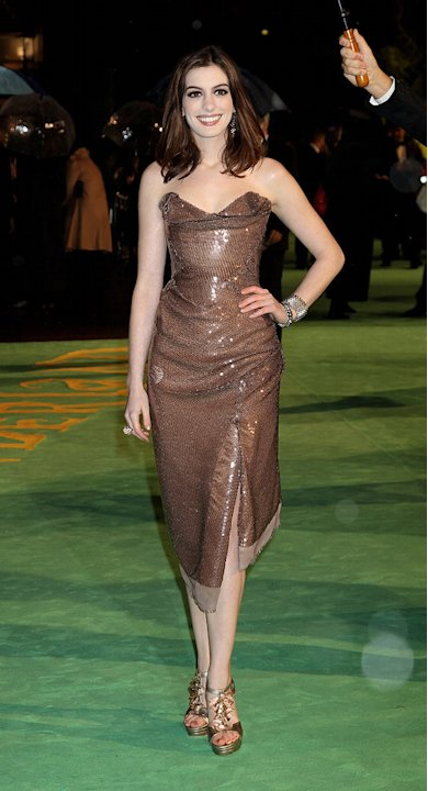 Alice in Wonderland UK Premiere 2010 Anne Hathaway
