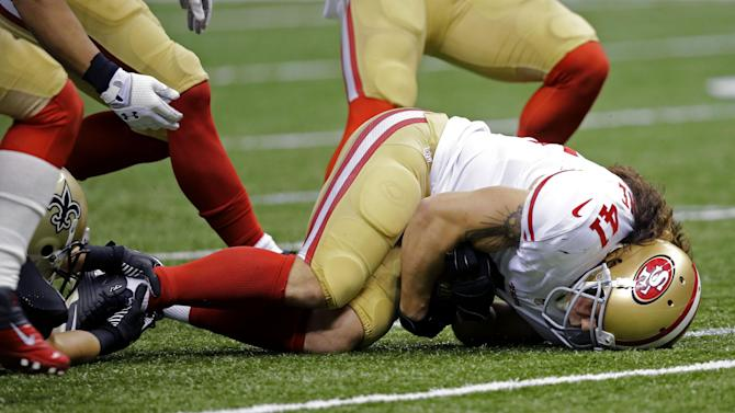 Saints overcome mistakes to beat 49ers 23-20