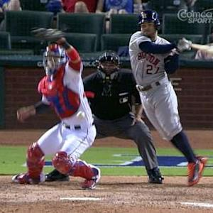 Altuve's leaping at-bat