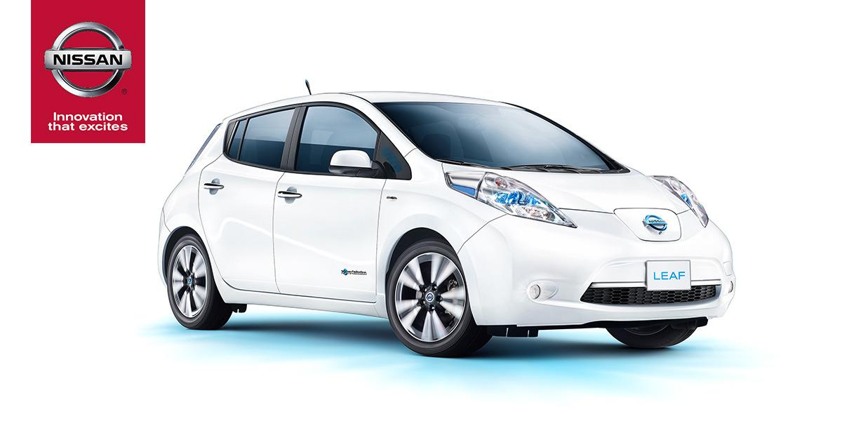 The 100% Electric Nissan LEAF®