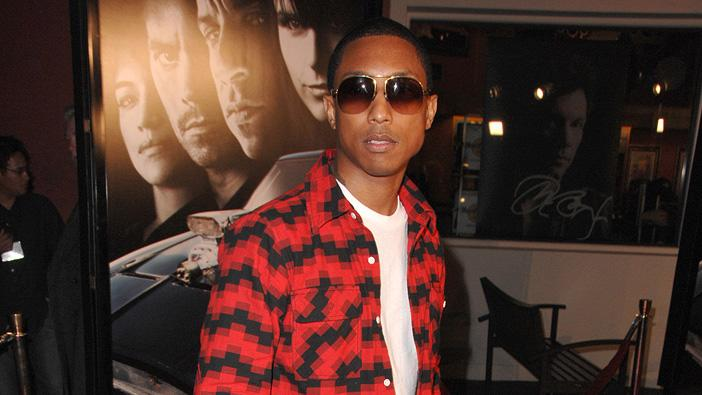Fast & Furious LA Premiere 2009 Pharrell Williams