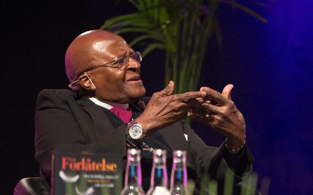 Tutu out of hospital after weeks of care: foundation